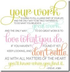 Your Work - Don't Settle